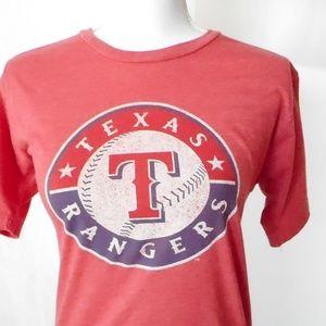 Unisex Size S Texas Rangers Short Sleeve T Shirt